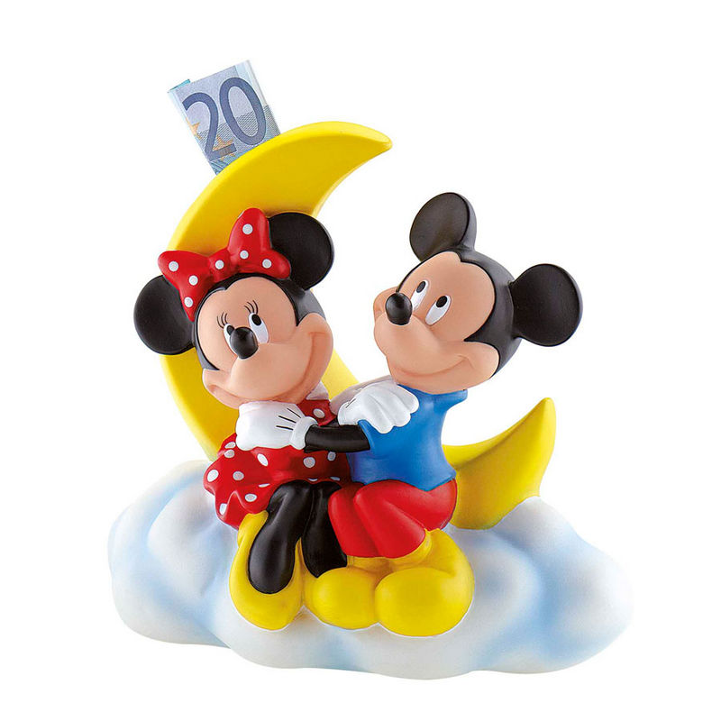 Hucha Mickey Minnie Disney luna