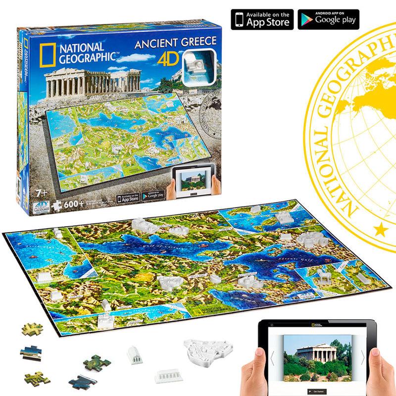 Puzzle 4D Civilizaciones Grecia