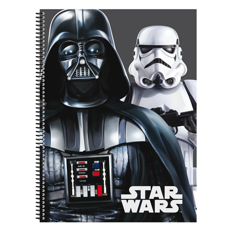 Cuaderno A4 Star Wars Flash tapa dura