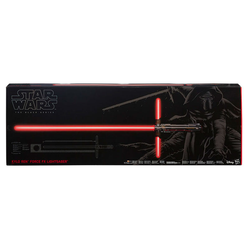 Sable laser Kylo Ren Star Wars Black series Deluxe Force FX