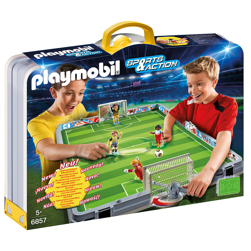 Maletin set futbol Playmobil Sports&Action