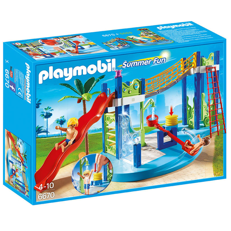 Zona juegos acuatica Playmobil Summer Fun