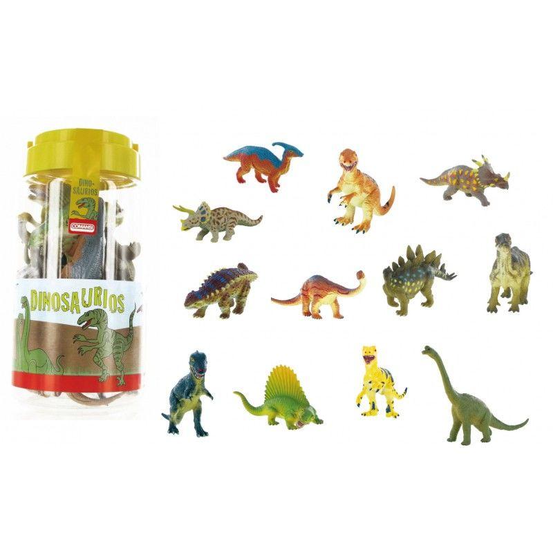 Bote figuras dinosaurios surtido