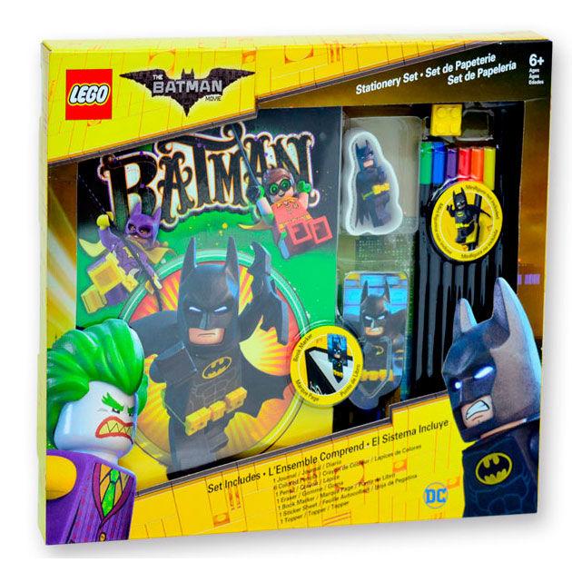 Diario + accesorios Lego Batman