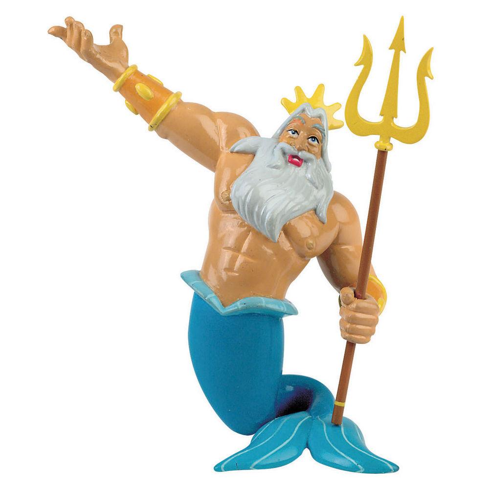 Figura Triton La Sirenita Disney