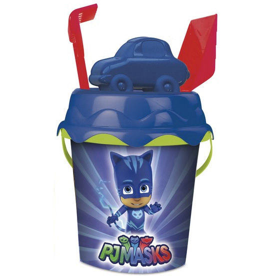 Cubo playa PJ Masks molde*