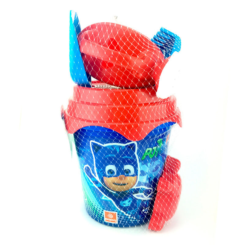 Cubo PJ Masks molde regadera*