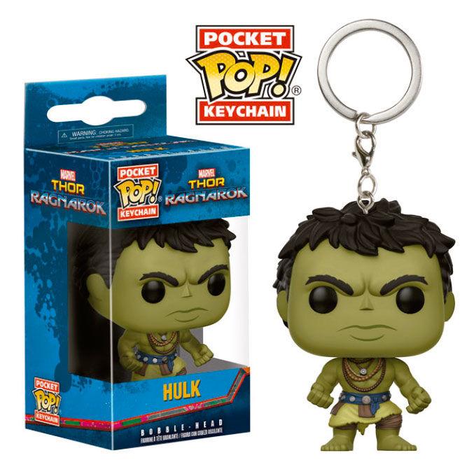 Llavero Pocket POP Marvel Thor Ragnarok Hulk