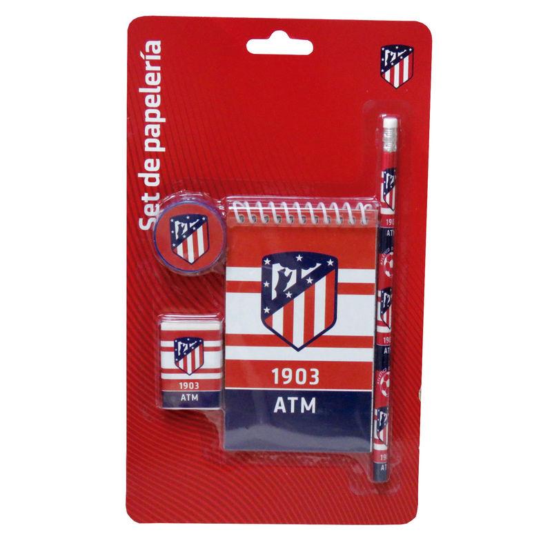 Set papeleria Atletico Madrid