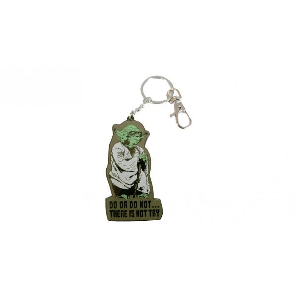 Llavero de mosquetón Yoda