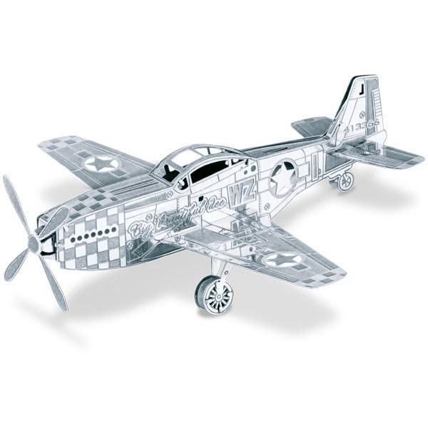 Metal works: Avión Mustang P51