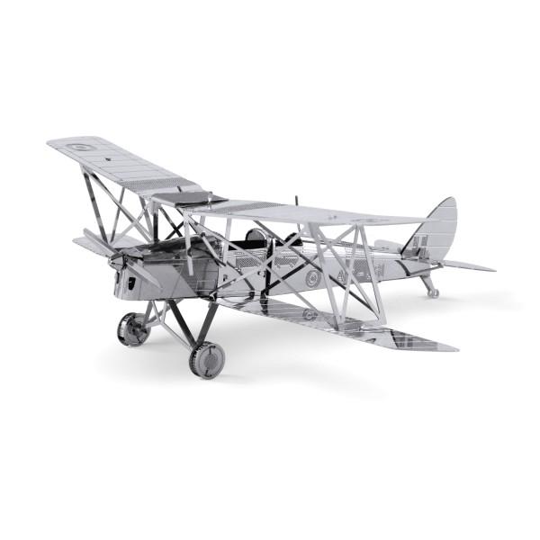 Metal Works: Biplano Tiger Moth