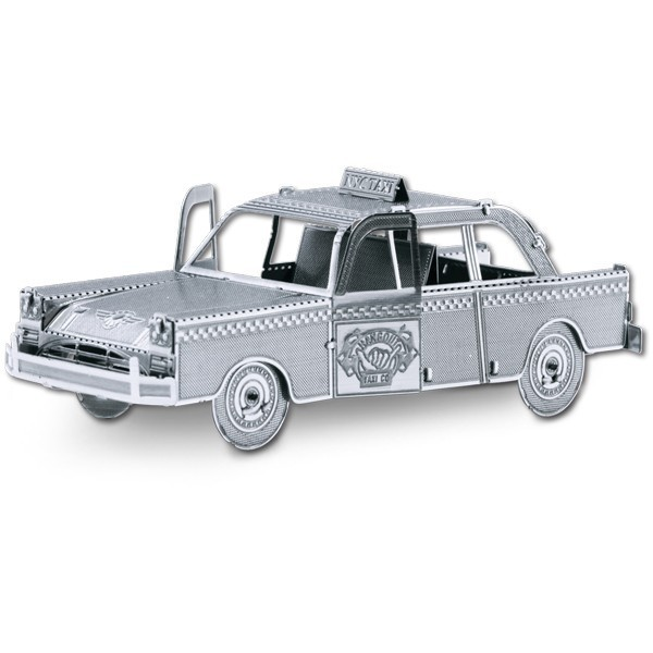 Metal Works: Checker Taxi