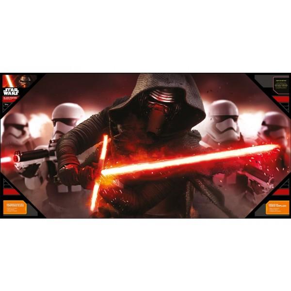 Poster Kylo y Stormtroopers con cristal templado
