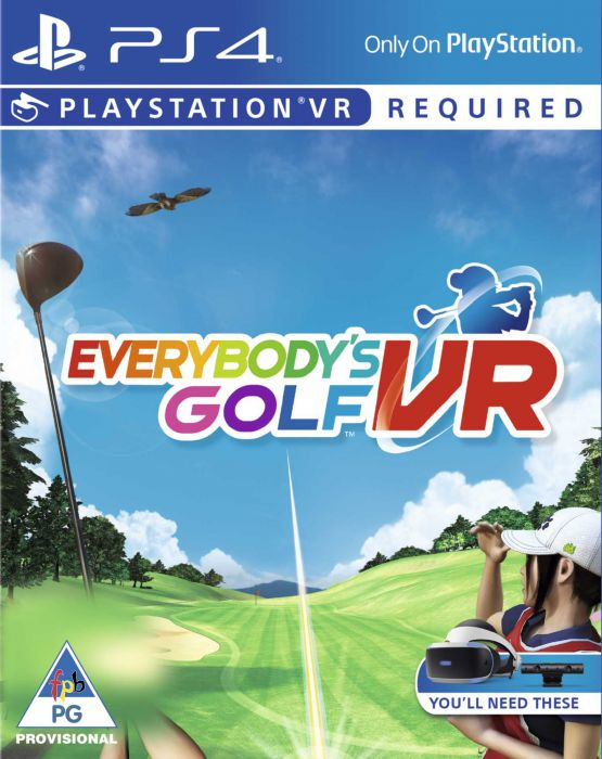 Vr Everybodys Golf-Ps4