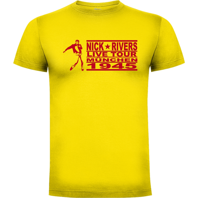 Camiseta Nick Rivers on Tour