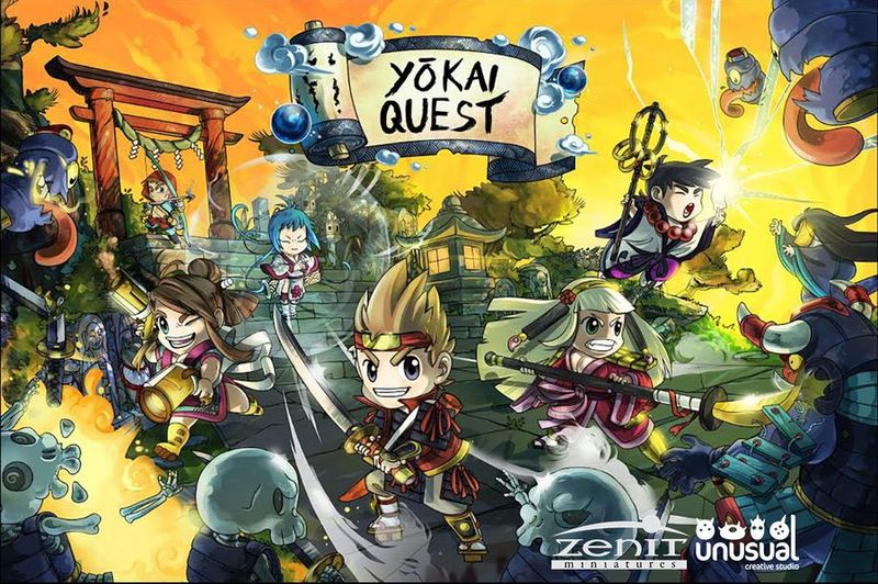 Yokai Quest Core (Castellano)
